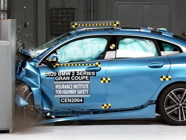The BMW 2 Series Gran Coupe aces its crash tests, but it's not a Top Safety Pick