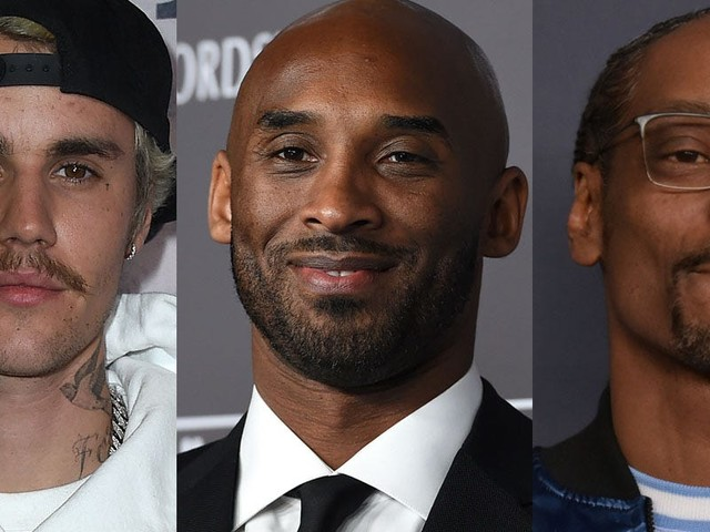 Celebrities are rallying for the NBA to change its logo to honor Kobe Bryant