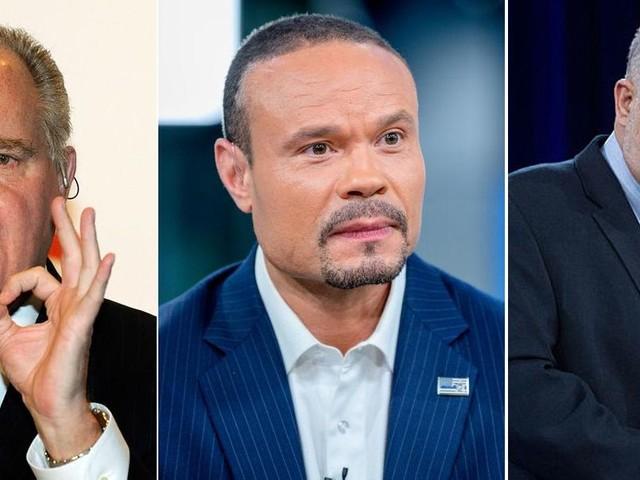 Rush Limbaugh, Dan Bongino, Mark Levin take action against Twitter after platform permanently bans Trump