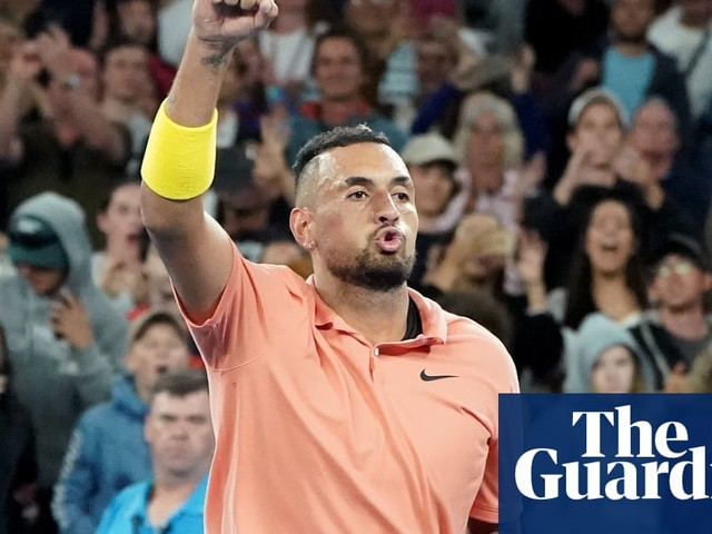 Nick Kyrgios wins war with himself and Gilles Simon at Australian Open