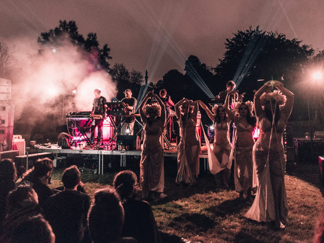 The Stranger Things Band Partied in a Cemetery Last Weekend