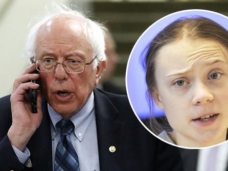 Russian Pranksters: We Tricked Bernie Sanders into KGB 'Sleeper Agent' Activation Ritual with 'Greta Thunberg'