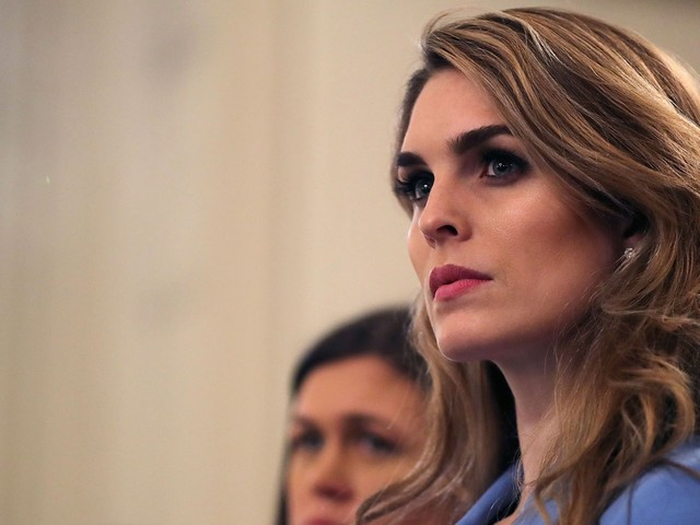 Alexandria Ocasio-Cortez attacks former Trump aide Hope Hicks for 'considering participating in a coverup led by the President'