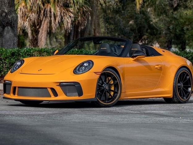 2019 Porsche 911--Speedster