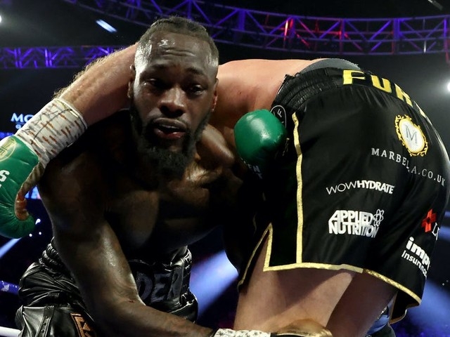 Deontay Wilder was hospitalized after a thorough beating from Tyson Fury, who celebrated his victory at the Hakkasan nightclub in the MGM Grand