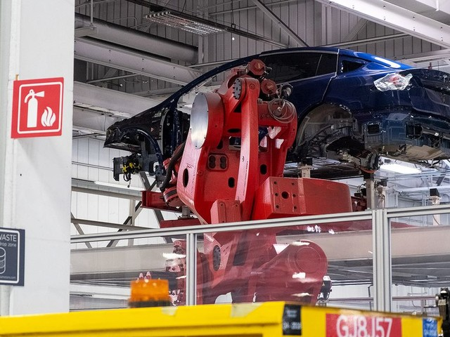 Tesla plans to partially reopen Fremont factory on Friday
