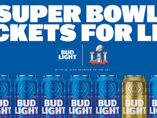 Bud Light Super Bowl Tickets for Life and Gear Sweepstakes (Over 2,000 Prizes)