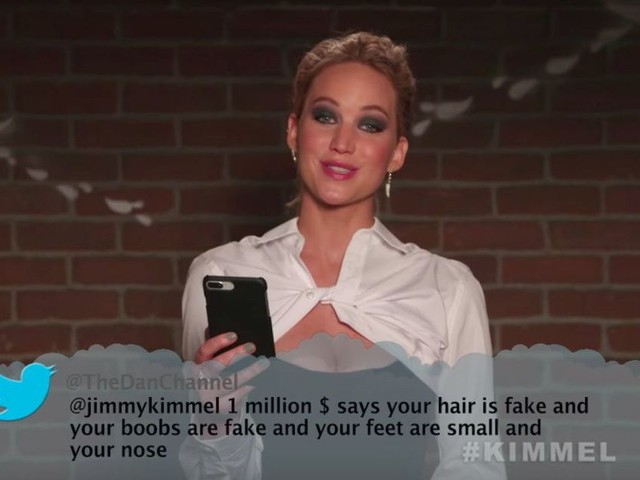 Celebrities read mean tweets about Jimmy Kimmel and things get brutal fast