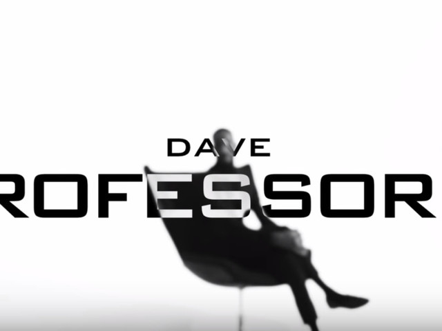 """Dave Assumes The Role Of """"Professor X"""" In Cinematic New Video"""