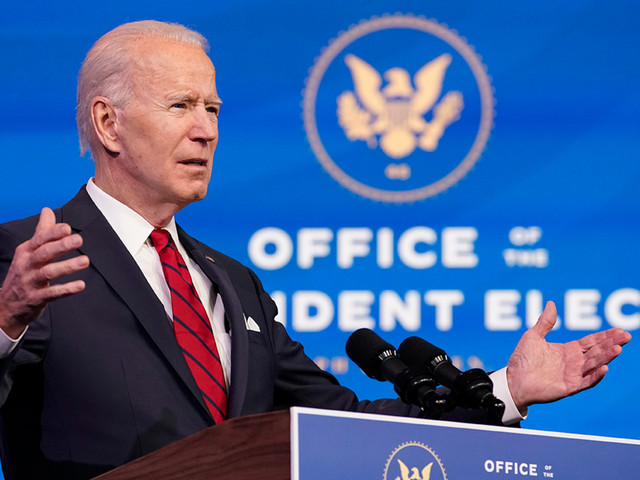100 million shots just the start of Joe Biden's COVID-19 plan
