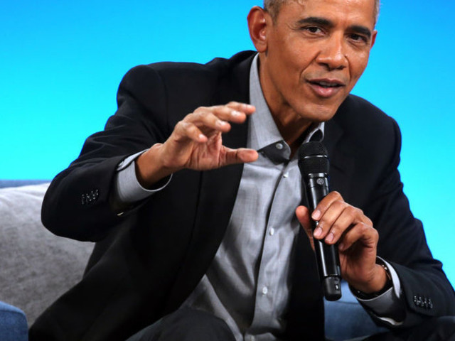 Obama again warns Democrats not to move too far to the left and 'tear down the system'