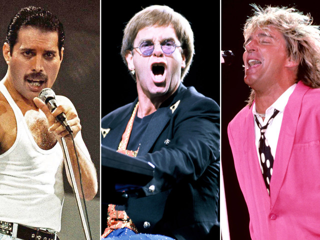 Freddie Mercury, Elton John and Rod Stewart wanted to form a supergroup