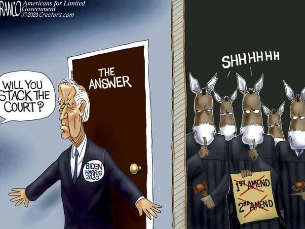 Now Biden Says Filling Ginsburg Seat 'Not Constitutional' - And Americans Don't 'Deserve To Know' If He'll Pack Court