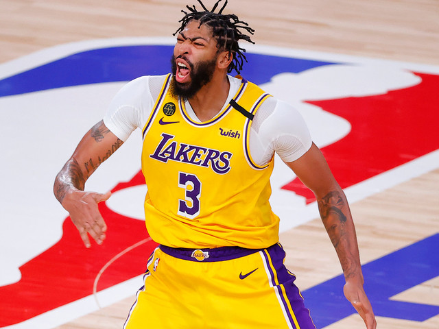 Anthony Davis agrees to $190 million extension with Lakers
