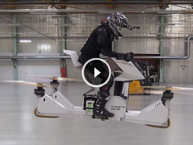 Instead Of A New Supercar, The Dubai Police Bought This Insane Hoverbike
