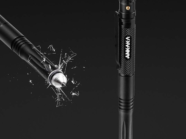 This $11 tactical pen can write, open bottles, become a flashlight, and even stab someone