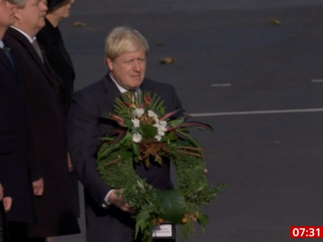 BBC Quashes Conspiracy Theories After Mistakenly Airing Old Footage Of Boris Johnson Laying A Wreath