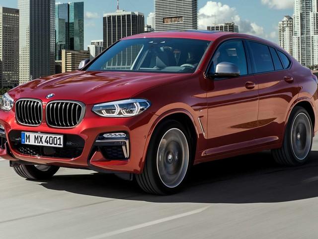 2019 BMW X4 Grows up Slightly but Stays Swoopy