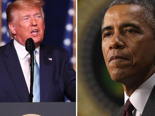 President Trump has biting response for Barack Obama over filing SCOTUS vacancy