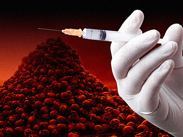 """Covid vaccines confirmed to KILL twice as many people as they """"save"""""""