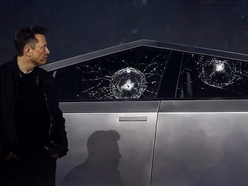Elon Musk explains why Tesla's Cybertruck window broke during the launch event
