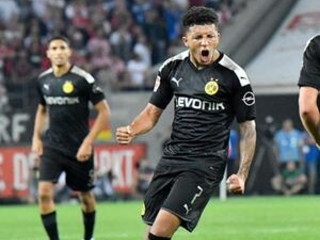Sancho helps Dortmund come from behind to beat Cologne 3-1