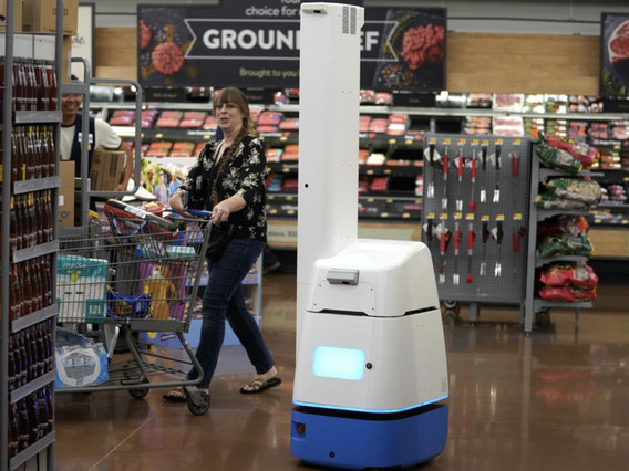 Walmart Employees Bristling At Fleet Of Robot Co-Workers