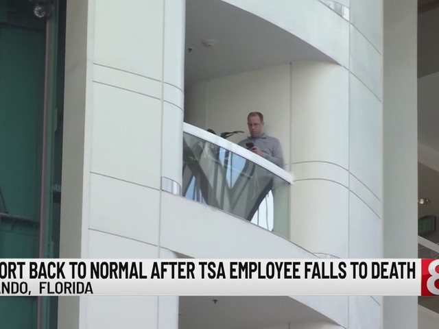 TSA officer jumps to his death at Orlando airport
