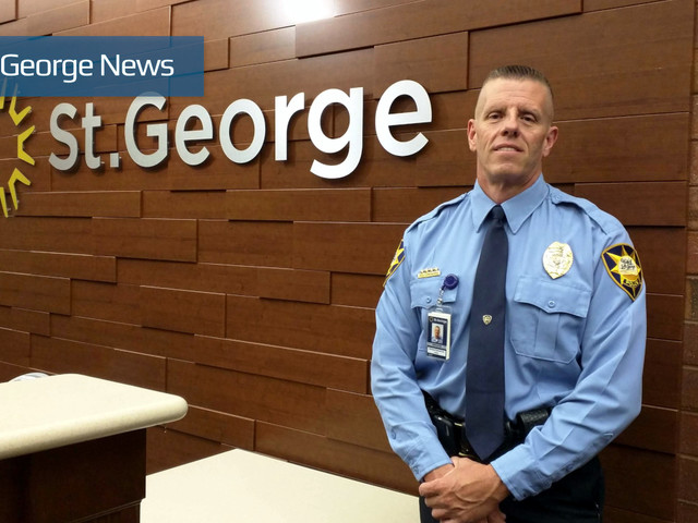 'This was a really easy decision'; St. George city promotes new police chief