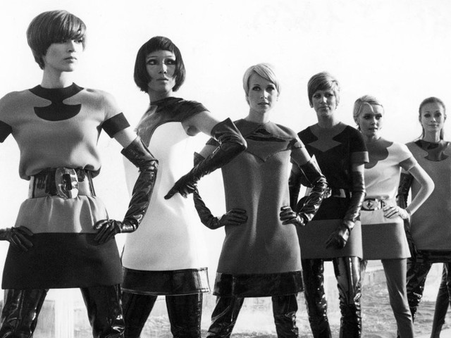 Back to the Future With Pierre Cardin's Space-Age Fashion