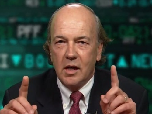 Best-selling author James Rickards explains how 'parasite' passive investors will make the next market downturn 'like a runaway train with no brakes'