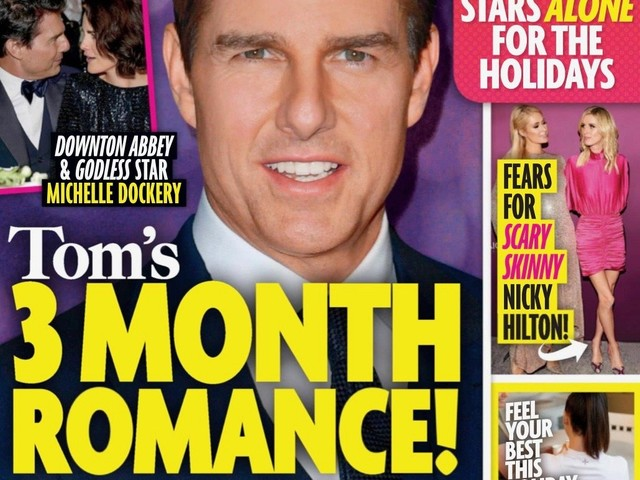 Tom Cruise, Michelle Dockery Romance In The Works For Months?