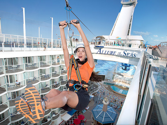 9 things to try on Allure of the Seas