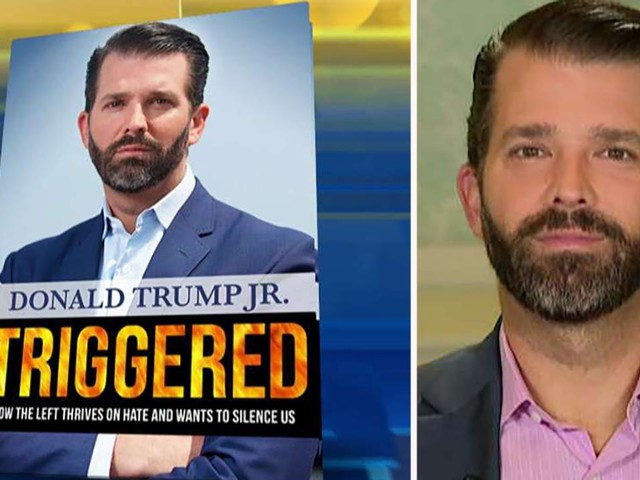 Donald Trump Jr. book 'Triggered' would be #1 even without bulk sales, source says
