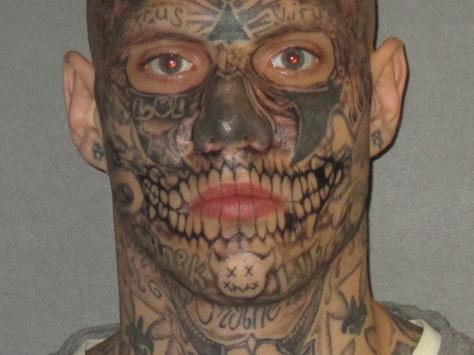 Heavily-tattooed man convicted in Louisiana double murder