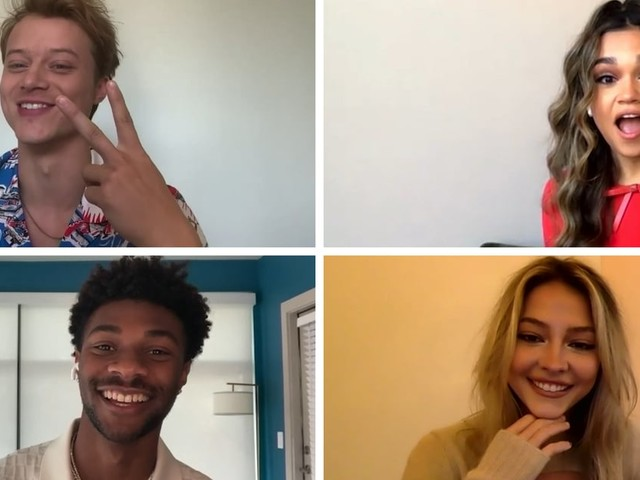 Watch the Stars of Outer Banks Hilariously Get Quizzed on How Well They Know Each Other