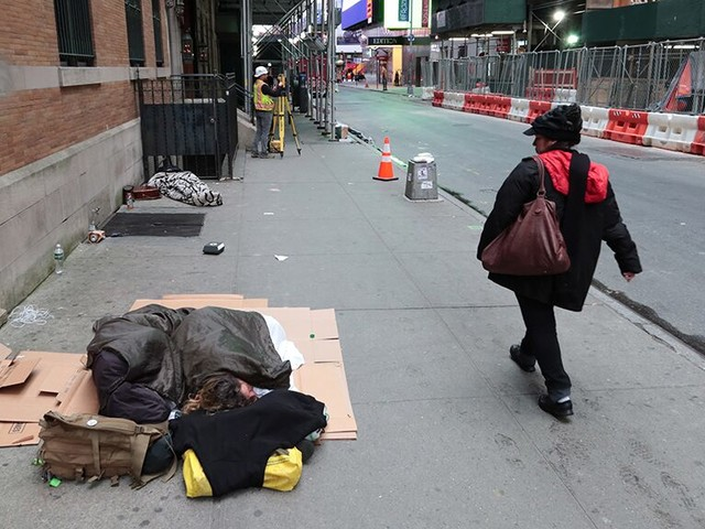 De Blasio says NYC is 'on the offensive' to tackle staggering homelessness in Big Apple