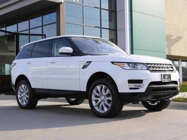 2016 Land-Rover Range--Rover--Sport V6 HSE