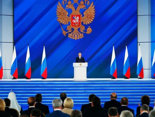 """Putin'sKeyState-Of-The-Nation Address: """"Swift & Tough"""" Response Coming For Those Crossing 'Red Line'"""