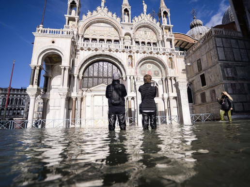 Italy Declares State Of Emergency As Record Flooding In Venice Worsens