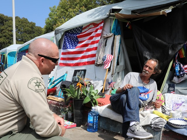 After fatal stabbing, county aims to house homeless vets outside the VA in West LA by end of year