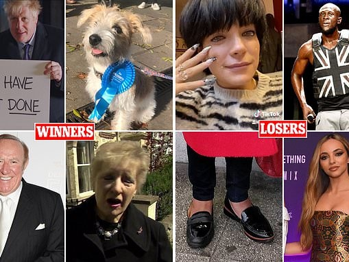 The REAL winners and losers! From the Loch Ness monster to Lily Allen, who got a ballot box bounce?