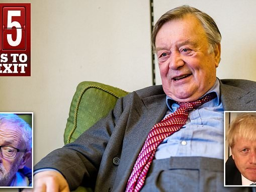 Ken Clarke puts himself forward to lead the government if Boris Johnson is ousted from No.10