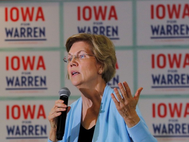 Warren's campaign tries to lower expectations before Iowa caucuses