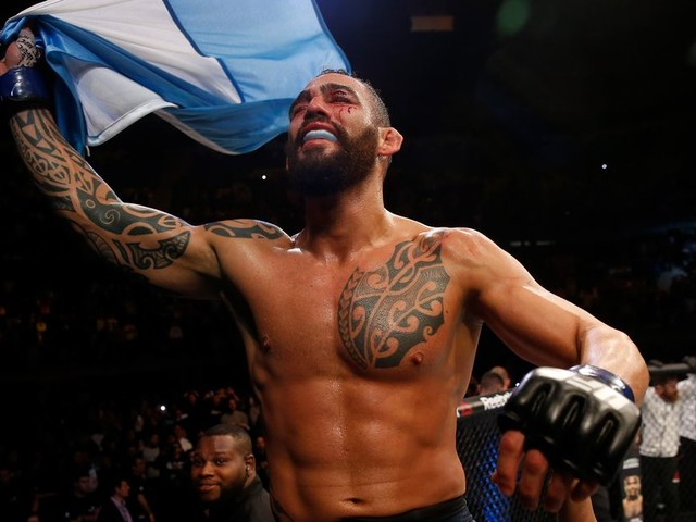 Ponzinibbio out of UFC 245 fight vs. Lawler