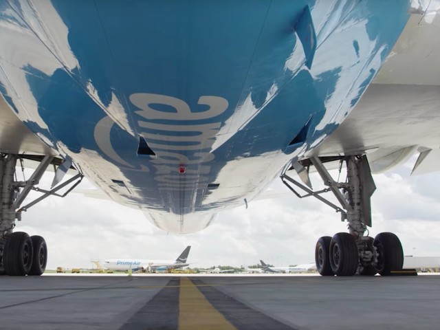 Amazon Air is quietly expanding toward Asia's doorstep in its latest warning shot to FedEx and UPS (AMZN)