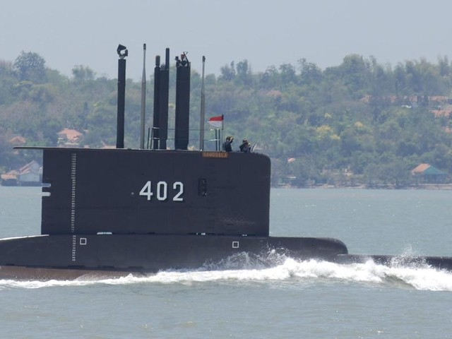 An Indonesian Navy submarine has gone missing off the coast of Bali. 53 people were on board.