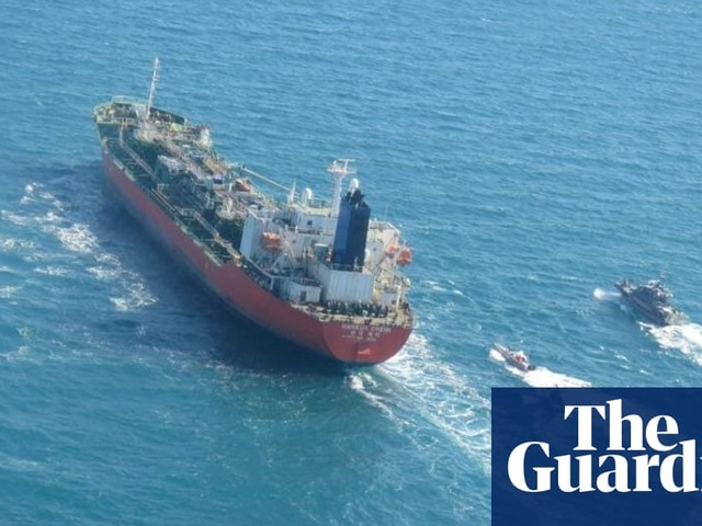 Iran says it has seized South Korean tanker as tensions with US mount