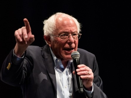Bernie Sanders Celebrates Big Nevada Win: Americans Are Sick of a President Who 'Lies All of the Time'
