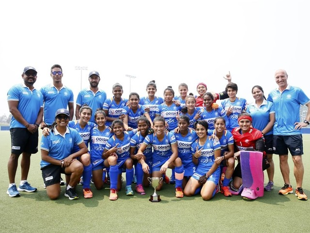 Indian Junior Women's Hockey Team Win 3-Nation Tournament